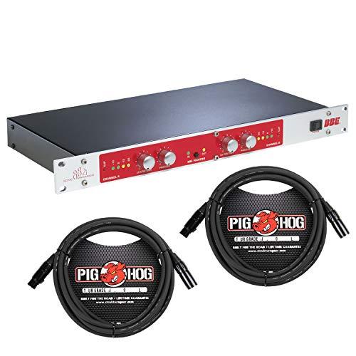 BBE 882i Sonic Maximizer Dual Mono Processing Engine w/ 10' PigHog XLR Cables