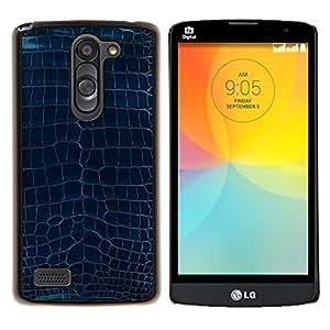 "Be-Star Único Patrón Plástico Duro Fundas Cover Cubre Hard Case Cover Para LG L Prime / L Prime Dual Chip D337 ( Patrón Diseño Turquesa Azul Textura Arte"" )"
