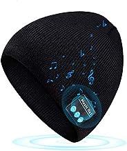 Bluetooth Beanie Gifts for Teen Boys Girls Wireless 5.0 Music Knit Cap Winter Outdoor Sport Hat Uniquen Presen