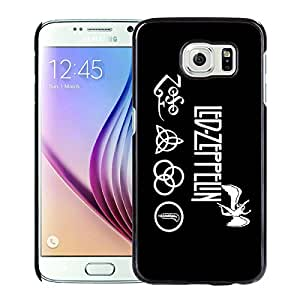 Samsung Galaxy S6 Case,Led Zeppelin Black For Samsung Galaxy S6 Case