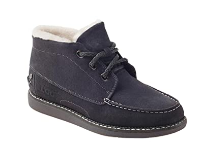 f07d8a3684a OZWEAR UGG Australia Men Warm Fur Ankle Boots Lace Up Short Boots ...