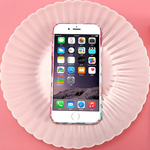 Phone Case & Hülle Für IPhone 6 u. 6s, 3D Skalen buntes Diamant-Rasterfeld-Schutz-rückseitige Abdeckungs-Fall