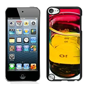 Bottle Flask Fluid Chemistry Black Case Cover for iPod Touch 5 Grace and Cool Design