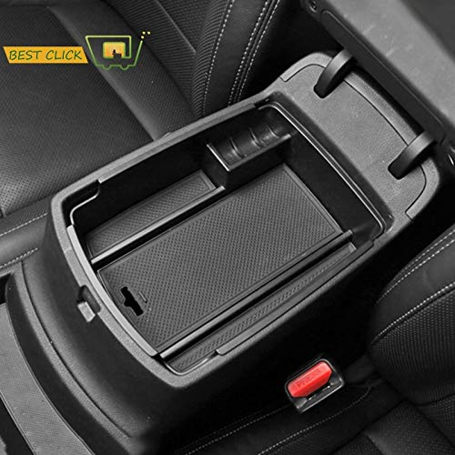 Tomeco Armrest Storage Box For Kia Sportage Ql AT DRIVE 2016 2017 2018 Arm Rest Bin Center Console Organizer Glove Tray Pallet Holder
