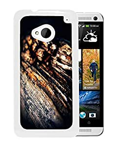 New Custom Designed Cover Case For HTC ONE M7 With Mf Old Aged Tree Vertical Dark Nature (2) Phone Case