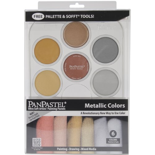 Colorfin PanPastel Metallics Kit (30077) by Colorfin
