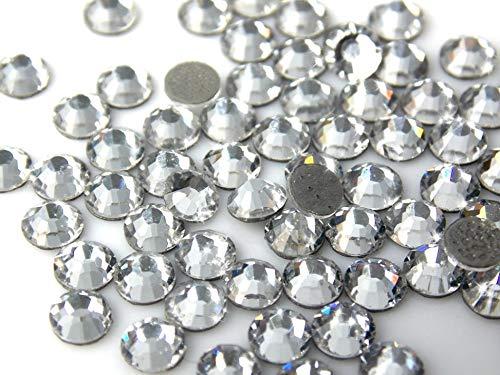STRASS Termoadesivi PRECIOSA VIVA 12 SS16 4mm 144pz Crystal bianco cristallo trasparente