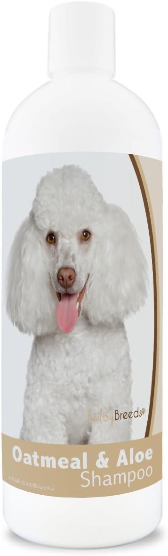 Healthy Breeds Oatmeal & Aloe Dog Shampoo - Over 200 Breeds - Mild & Gentle for Sensitive Skin - Hypoallergenic & pH Balanced - 16 oz