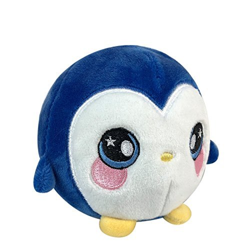 Squishamals - 3.5 PEPPER THE PENGUIN - Super-Squishy Foamed Stuffed Animal! Squishy, Squeezable, Cute, Soft, Adorable!