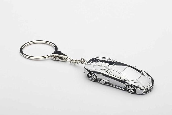 Lamborghini Reventon pulido aluminio llavero: Amazon.es ...