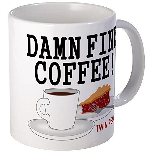 CafePress - Twin Peaks Damn Fine Coffee Mugs - Unique Coffee Mug, Coffee Cup