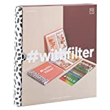 DOIY CUSTOM #Withfilter Multicolor Photo Album With Filters (Orange)