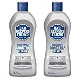 Bar Keepers Friend Cooktop Cleaner 13-Ounce Bottle - 2 Pack