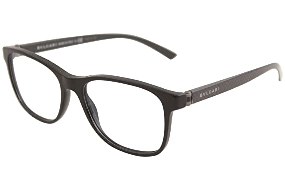 02b66c27ea2fc Bvlgari Men s BV3036 Eyeglasses Black 53mm at Amazon Men s Clothing ...