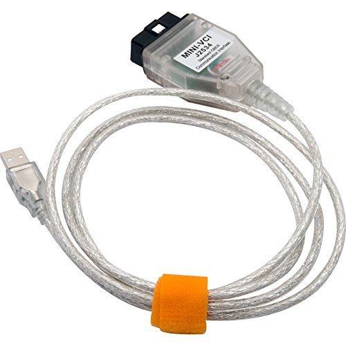 MASO 1,5M Mini VCI J2534 Codeleserkabel f/ür Techstream-Software OBD2 Diagnosescan-Tool einschlie/ßlich v13.00.022