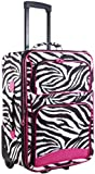 Cheap Ever Moda Zebra Carry On Luggage