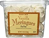 Trader Joe's Vanilla Meringues - Fat Free - 7.76oz (210g) - 2 PACK
