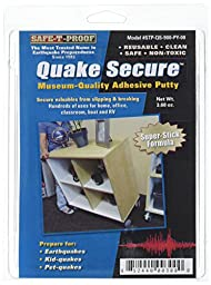 Quake Secure Museum Quality Adhesive, Putty