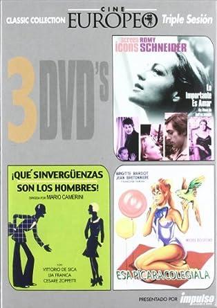 Pack Cine Europeo 2 by Unknown: Amazon.es: Cine y Series TV