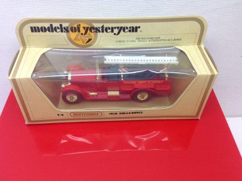 Matchbox Models of Yesteryear Y-6 1920 Rolls Royce 1978 White Ladder