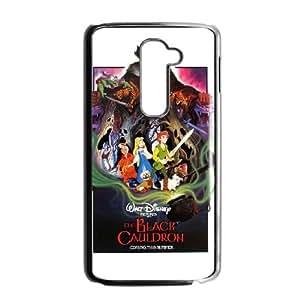 LG G2 Black phone case Disney characters The Black Cauldron DIS2900228