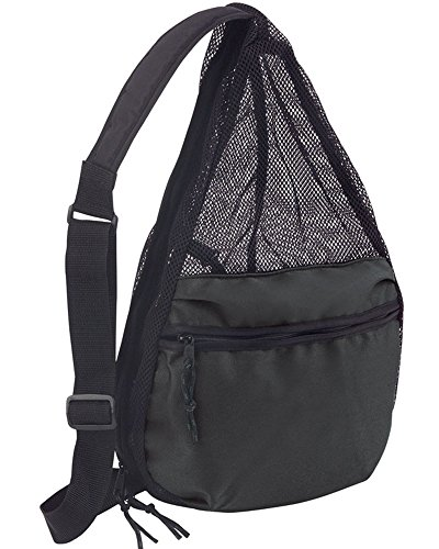 NuFazes Mesh Backpack (Black) - Small Mesh Backpack
