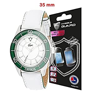 Universal Round watch SCREEN Protector (2 Units) Invisible Protection GOOD FOR SMART WATCH TOO by IPG Size options are available (35 mm diameter)