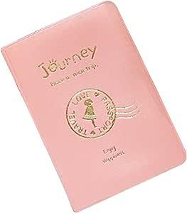 Broadfashion - Funda de pasaporte rosa: Amazon.es: Equipaje