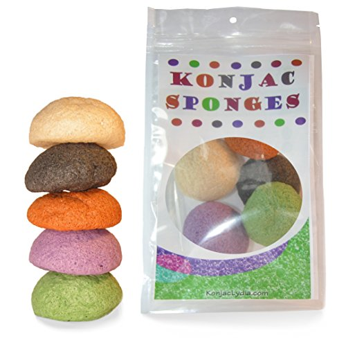 Konjac Sponge Set Exfoliating Cleansing product image
