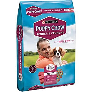 Purina puppy chow tender and crunchy puppy for Purina game fish chow