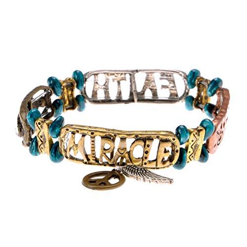 ZLYC Pendant Stretch Bracelet Inspiration product image