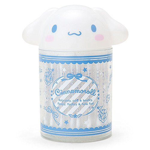 Sanrio Cinnamoroll cinnamon-shaped cotton swab box From Japan New by Sanrio