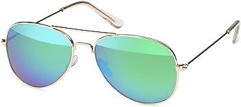 Pilotenbrille für Kinder aus Edelstahl Aviator in 3 Farben - UV 400 Filter und CE-Prüfzeichen