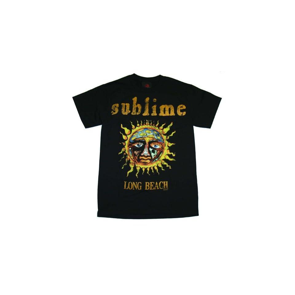 Sublime Sun Logo Long Beach Rock Band T Shirt Tee