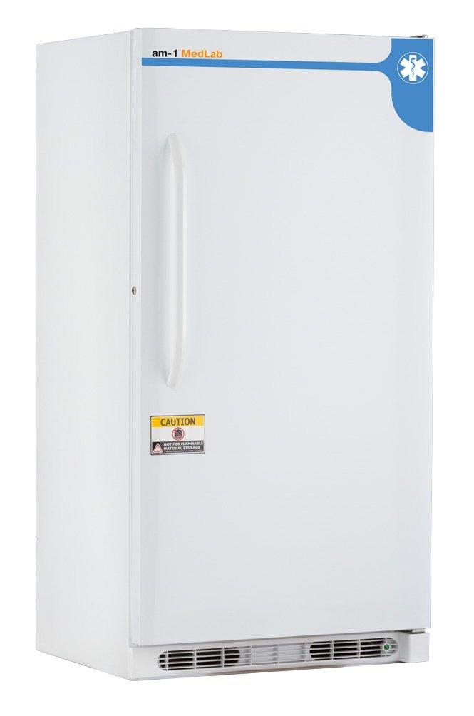 am-1 AM-LAB-MD-FSE-17 MedLab Essential Manual Defrost 17 cu. ft. Medical/Laboratory Freezer, White