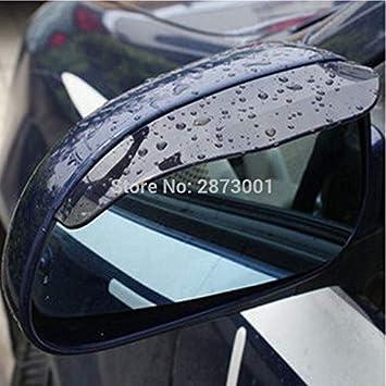 Homeve 2 Piezas de Accesorios para Espejo retrovisor para BMW E36 Citroen Xsara Picasso Golf 4 Nissan Livina Golf 7 Volvo s80L S40: Amazon.es: Coche y moto