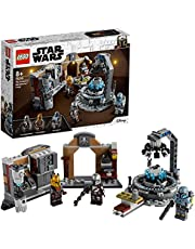 LEGO 75319 Star Wars The Mandalorian Armourer's Forge Building Set with 3 Minifigures, Toys for Kids Age 8+