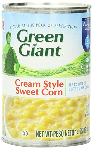 Green Giant Cream Style Corn 14.75 Oz (Pack of 6) (Corn Style Cream Sweet)