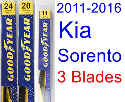 kia sorento wiper blades wiper blades for kia sorento. Black Bedroom Furniture Sets. Home Design Ideas