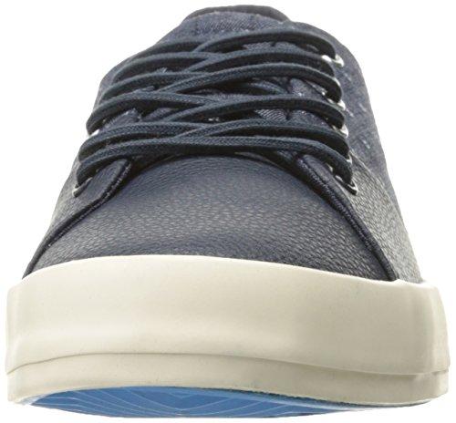 Dril De Algodón Azul Marino De La Moda De Zapatillas Carda De Creative Recreación Hombres Costo f1RO6O