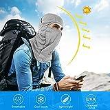 Botack Balaclava UV Protect Windproof Dustproof