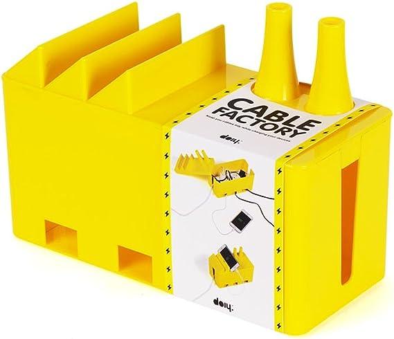 Doiy Caja de Cable, Amarillo: Amazon.es: Hogar