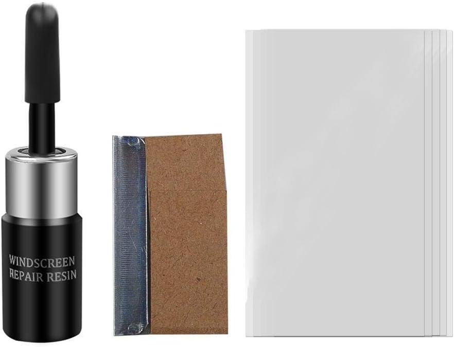 Hualala Kit di Riparazione del Parabrezza Kit di Riparazione del Vetro della Finestra dellauto Strumenti di Vetro Automatici per la Riparazione del Vetro
