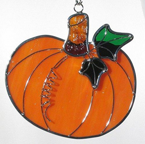 Stained Glass Pumpkin Sun Catcher (Suncatcher Pumpkin)