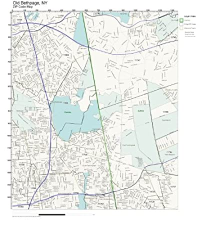 Amazon.com: ZIP Code Wall Map of Old Bethpage, NY ZIP Code ... on brainardsville ny map, cove neck ny map, republic ny map, south farmingdale ny map, nassau county long island ny map, east ramapo ny map, cherry valley ny map, baldwin harbor ny map, asharoken ny map, connetquot ny map, wappinger ny map, alder creek ny map, bethphage map, eatons neck ny map, east massapequa ny map, long island new york city map, astoria ny map, central square ny map, bay shore ny map, melville ny zip code map,