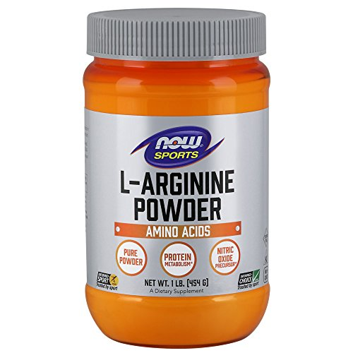 NOW Sports Nutrition, L-Arginine Powder, Amino Acids, 1-Pound