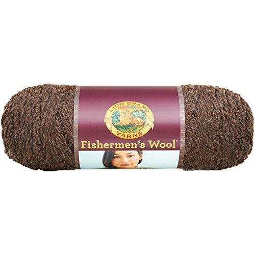 (Lion Brand Yarn Lion Brand Fishermen's Wool Yarn (126) Nature's Brown,)