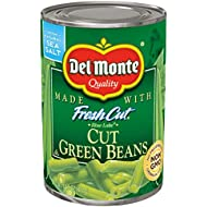 Del Monte Canned Fresh Cut Blue Lake Green Beans, 14.5-Ounce