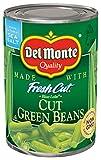 Del Monte Canned Fresh Cut Blue Lake Cut Green Beans, 14.5-Ounce