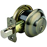 Best BRINKS Cylinders - Brinks 4301-109 Maximum Security Single Cylinder Deadbolt, Antique Review